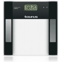 Cantar de baie Taurus Syncro Glass Complet, 150kg