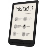 eBook Reader PocketBook InkPad 3, Ecran Capacitive touchscreen 7.8inch, 1Ghz, 8GB, Wi-Fi (Negru)